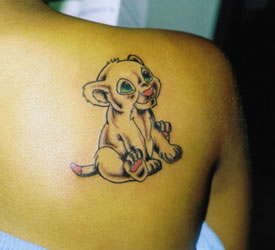 Cartoon Tattoos
