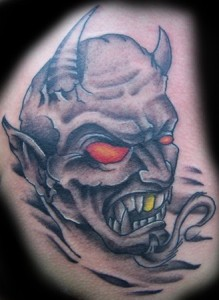 Demon Tattoos Design