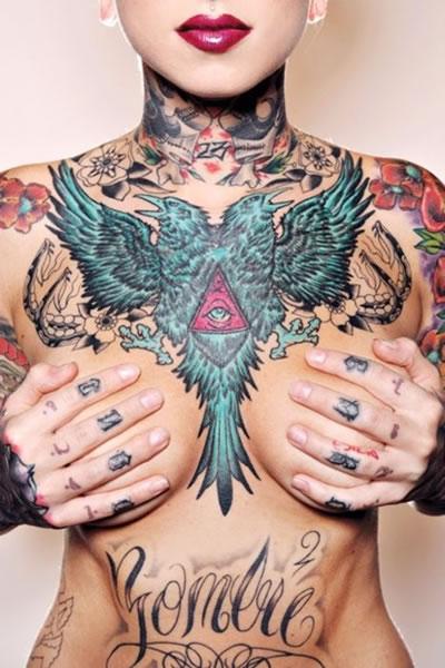 Green Eagle Tattoo