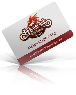 Miami Ink Membership Card
