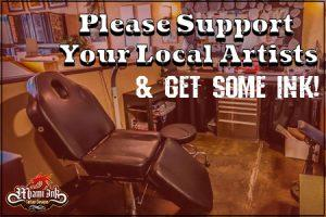 Support Local Tattoo Artists